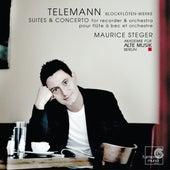 Telemann. Blockflöten-Werke by Maurice Steger and Akademie für Alte Musik Berlin