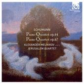 Schumann: Piano Quintet, Op.44 & Piano Quartet, Op.47 by Alexander Melnikov and Jerusalem Quartet