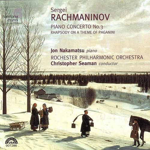 Rachmaninov: Piano Concerto No. 3 & Rhapsody On A Theme Of Paganini by Sergei Rachmaninov