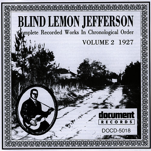 Blind Lemon Jefferson Vol. 2 (1927) by Blind Lemon Jefferson