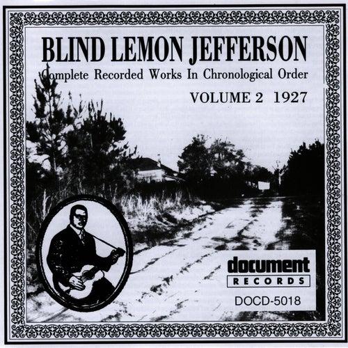 Blind Lemon Jefferson Vol. 2 (1927) by Blind Lemon Jefferson