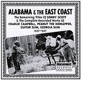 Alabama & The East Coast (1933-1937) by Various Artists