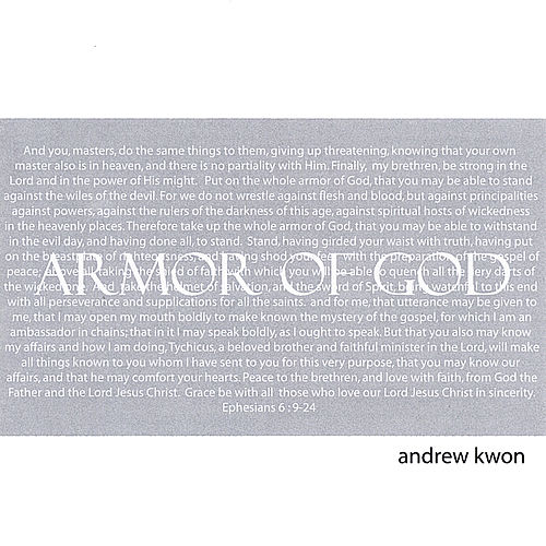 Armor of God by Andrew Kwon