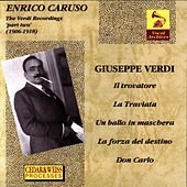 Enrico Caruso The Verdi Recordings Vol. 2 by Enrico Caruso