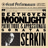 Beethoven:  Sonatas for Piano No. 14, 8, & 23 by Rudolf Serkin