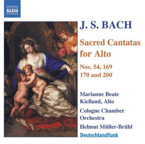 Sacred Cantatas For Alto by Johann Sebastian Bach