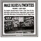 Male Blues Of The Twenties by Various Artists