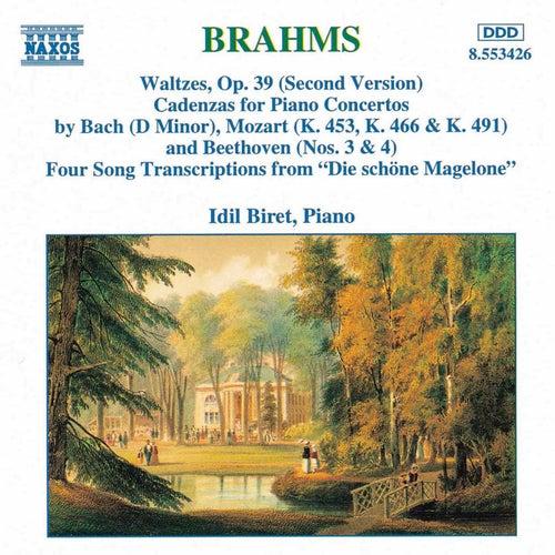 Waltzes / Cadenzas / Die schöne Magelone by Johannes Brahms