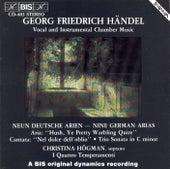 Nine German Arias, Hwv 202-210/Trio Sonata In C Minor, Hwv 386a by George Frideric Handel