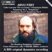 Cello Concerto/Perpetuum Mobile / Symphonies No. 1, No. 2 And No. 3 by Arvo Part