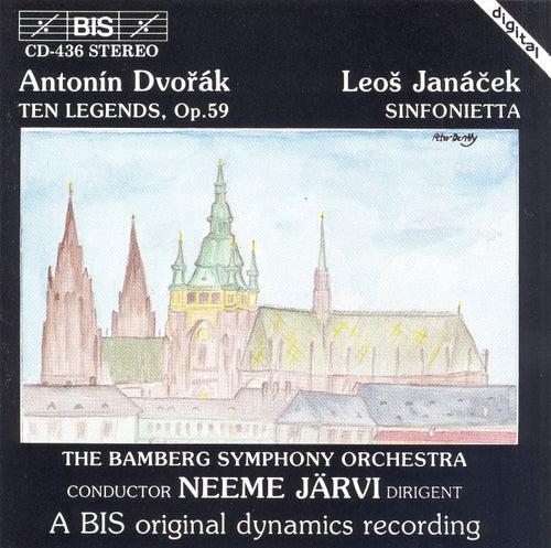 Legends, Op. 59/Sinfonietta by Antonin Dvorak