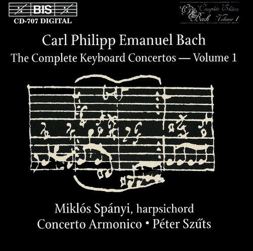 Complete Keyboard Concertos, Vol.  1 by Carl Philipp Emanuel Bach