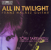 All In Twilight/Folios/In The Woods/12 Songs by Toru Takemitsu
