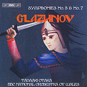 Symphonies Nos. 5 and 7 by Alexander Glazunov