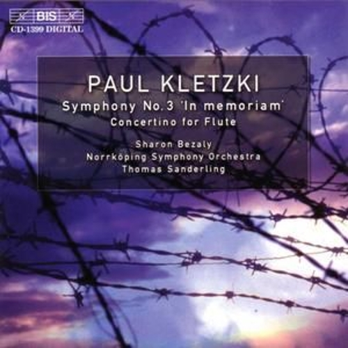 Symphony No. 3/Concertino For Flute by Paul Kletzki