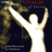 Vespers Of Sorrow by Antonio Vivaldi