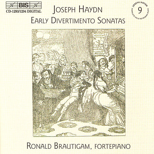 Early Divertimento Sonatas For Keyboard, Nos. 1-20 by Franz Joseph Haydn