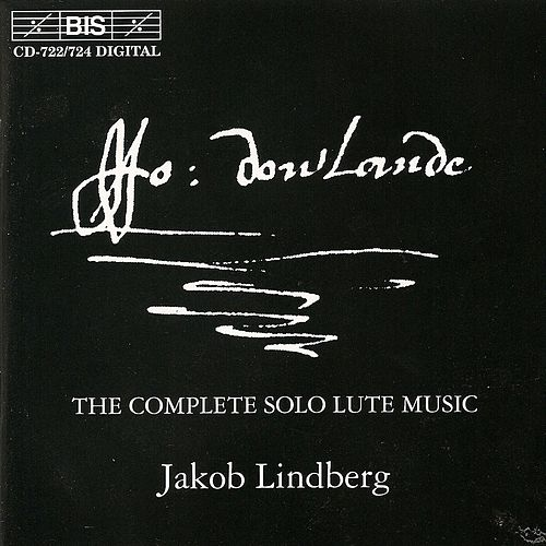 Complete Solo Lute Music by John Dowland