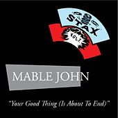 Your Good Thing by Mable John