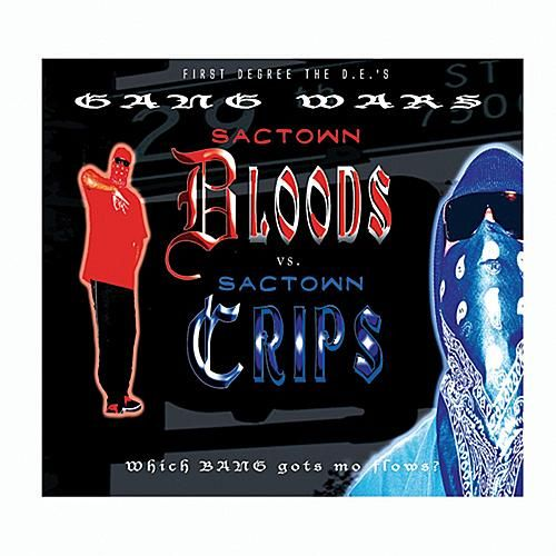 Gang Wars, Sactown Bloods And Crips by Various Artists