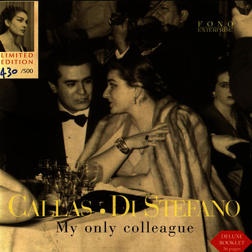 My Only Colleague by Maria Callas