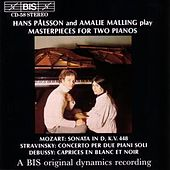 Mozart/Stravinsky/Debussy: Masterpieces For Two Pianos by Amalie Malling