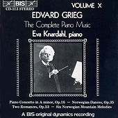 Complete Piano Music, Vol. 10 by Edvard Grieg