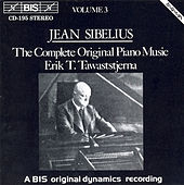 Complete Original Piano Music, Vol. 3 by Jean Sibelius