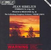 Symphony No. 6/Pelleas and Melisande Suite by Jean Sibelius