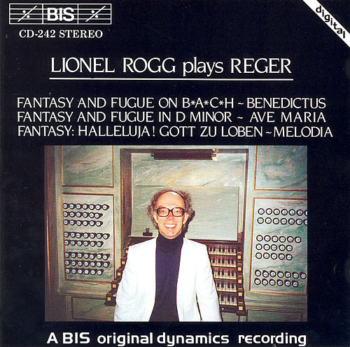 Rogg Plays Reger by Max Reger
