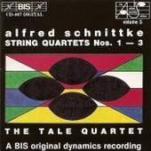 String Quartets Nos. 1-3 by Alfred Schnittke