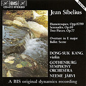 Six Humoresques/Two Serenades by Jean Sibelius