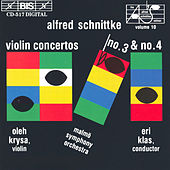 Violin Concertos Nos. 3 and 4 by Alfred Schnittke