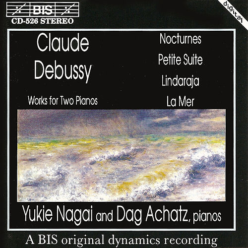 Works For Two Pianos, Four Hands by Claude Debussy