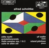 Violin Sonatas by Alfred Schnittke