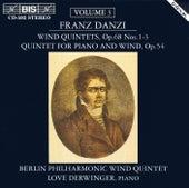 Wind Quintets, Vol. 3 by Franz Danzi