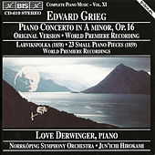 Piano Concerto In A Minor/Larviks-Polka/ Twenty-Three Small Piano Pieces by Edvard Grieg
