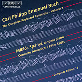 Complete Keyboard Concertos, Vol.  7 by Carl Philipp Emanuel Bach