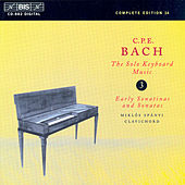 Solo Keyboard Music, Vol.  3 by Carl Philipp Emanuel Bach