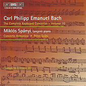 Complete Keyboard Concertos, Vol. 10 by Carl Philipp Emanuel Bach