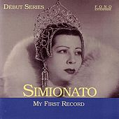My First Record by Giulietta Simionato