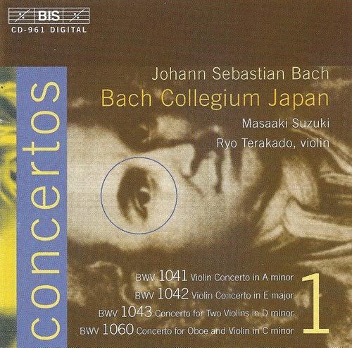 BACH, J.S.: Concertos, Vol. 1 (BWV 1041-1043, 1060) by Johann Sebastian Bach