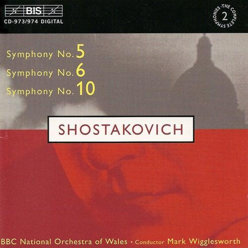SHOSTAKOVICH: Symphonies Nos. 5, 6 & 10 by Dmitri Shostakovich