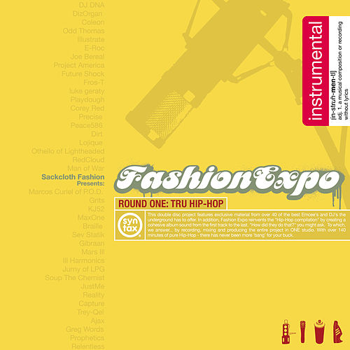 Fashion Expo - Round 1: The Instrumentals by Sackcloth Fashion