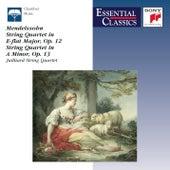 Mendelssohn: String Quartets Nos. 1 & 2 by Juilliard String Quartet