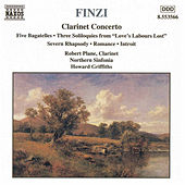 Clarinet Concerto / Five Bagatelles by Gerald Finzi