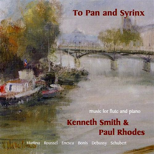To Pan and Syrinx by Kenneth Smith