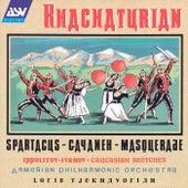 Spartacus Suite; Gayaneh Suite; Masquerade Suite by ARAM KHACHATURIAN