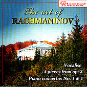 The Art of Rachmaninov Vol 7 by Sergei Rachmaninov