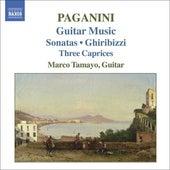 Paganini: Guitar Music, Gran Sonata, Capricci by Marco Diaz Tamayo